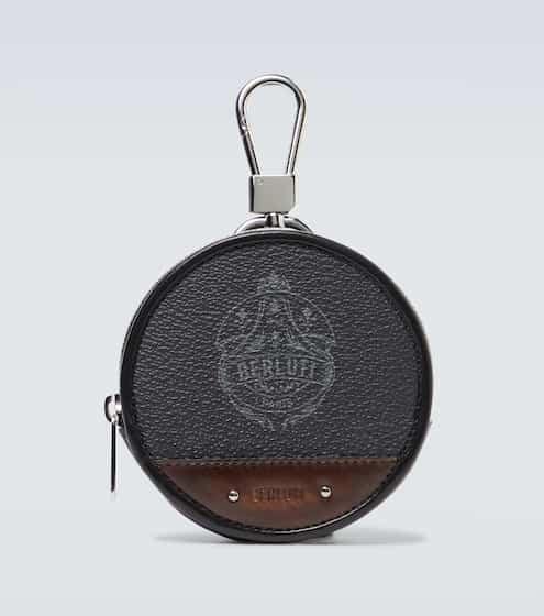 21SS 벨루티 글로브 키링 파우치 Berluti Globe keyring pouch