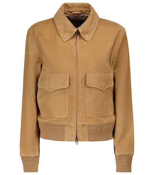 폴로 랄프로렌 봄버 자켓 Polo Ralph Lauren Suede bomber jacket