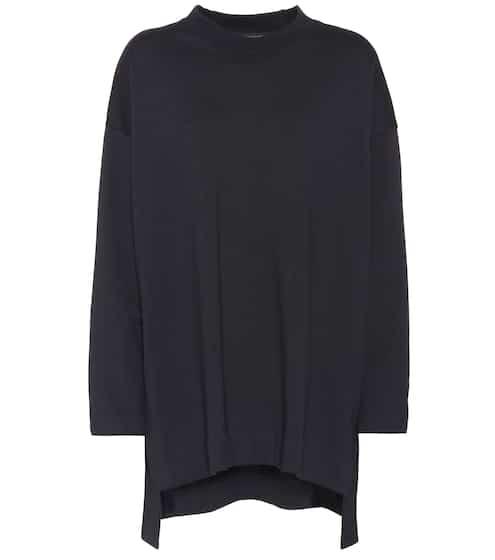 Y-3 Oversize Pullover aus Baumwolle