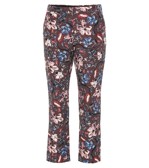 Printed wool-blend pants by Erdem, available on mytheresa.com for EUR306 Bella Hadid Pants SIMILAR PRODUCT