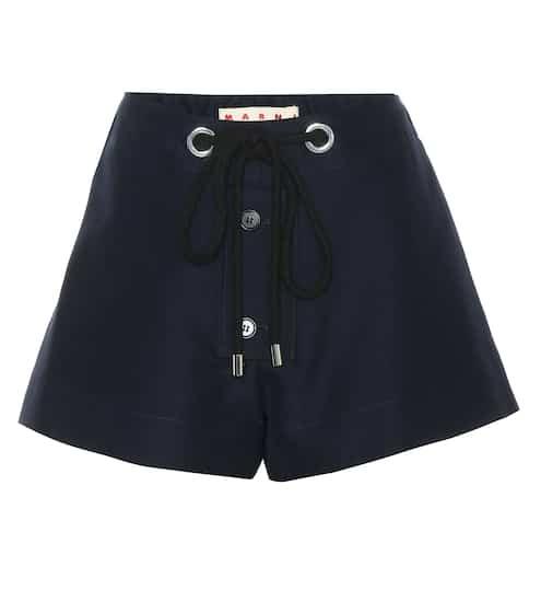 Marni Shorts aus Baumwoll-Cady
