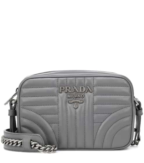 c27cf3fdb6c1 Prada Diagramme Leather Crossbody Bag from mytheresa - Styhunt