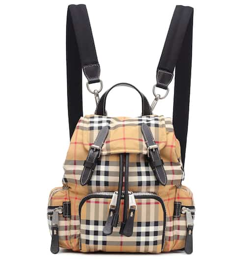 1ff4f6459344 The Small Rucksack checked backpack