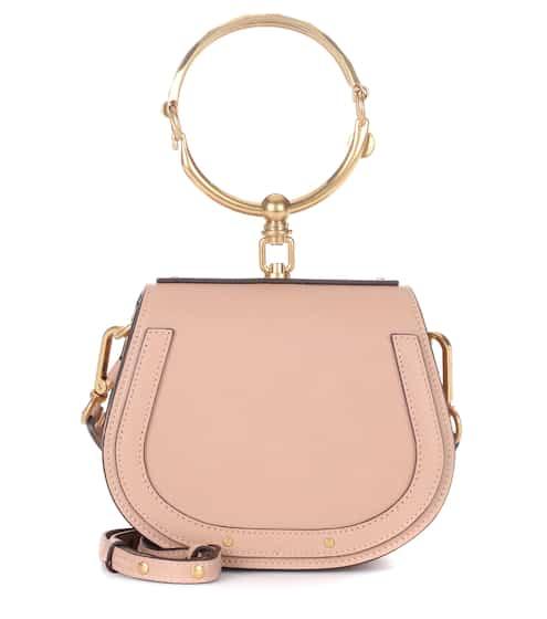 Chloé Crossbody-Tasche Small Nile Bracelet aus Leder