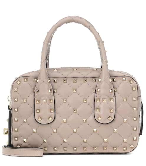 a55b856d783 Valentino Garavani Rockstud Spike leather tote | Valentino