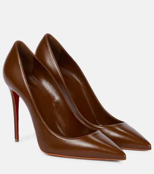 크리스찬 루부탱 펌프스 Christian Louboutin Kate 100 leather pumps