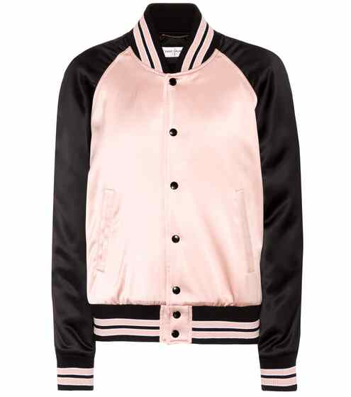 Saint Laurent Bomberjacke aus Satin