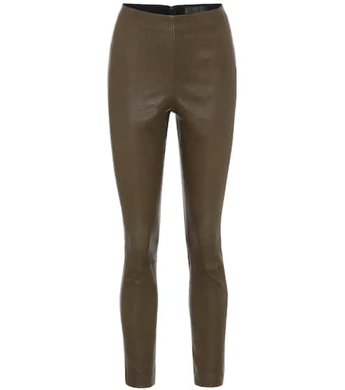 랙앤본 Rag & Bone Simone high-rise leather leggings