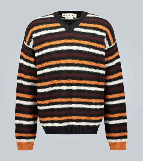 마르니 스트라이프 스웨터 Marni Striped knit sweater