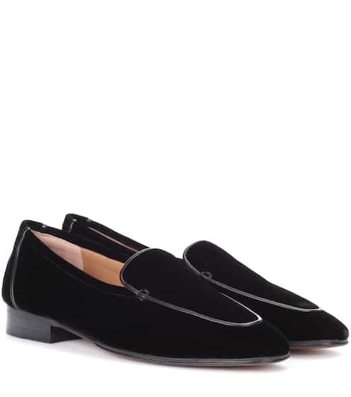 The Row Loafers Adam aus Samt