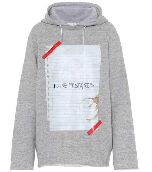 Printed cotton hoodie | Golden Goose Deluxe Brand