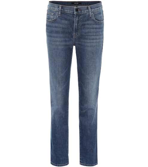 Johnny mid-rise boyfriend jeans | J Brand