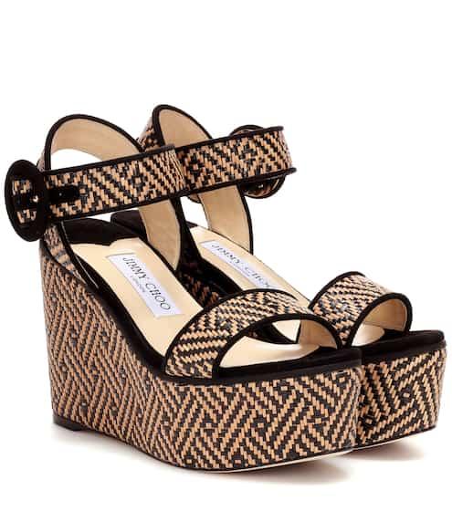 7ca761bd402c Abigail 100 platform wedge sandals