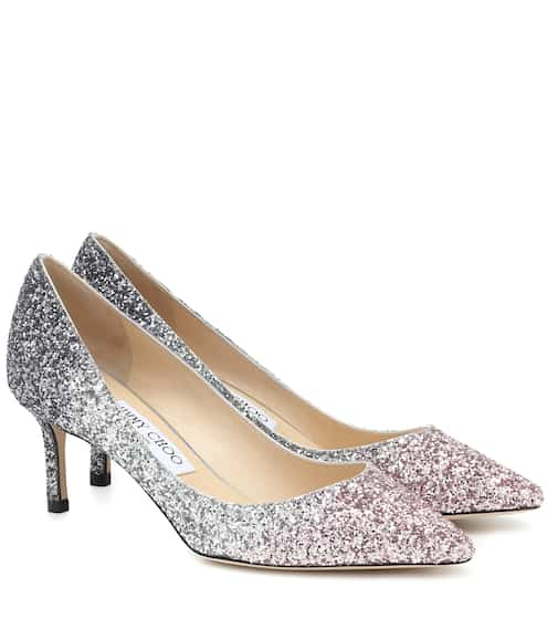 지미 추 Jimmy Choo Romy 60 glitter pumps