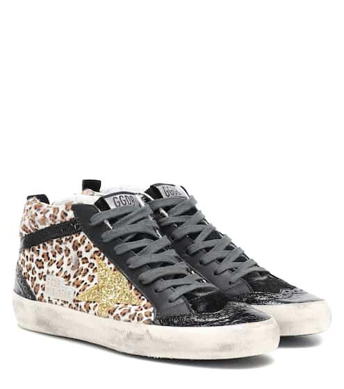 c19e14791ede Mid Star calf hair sneakers