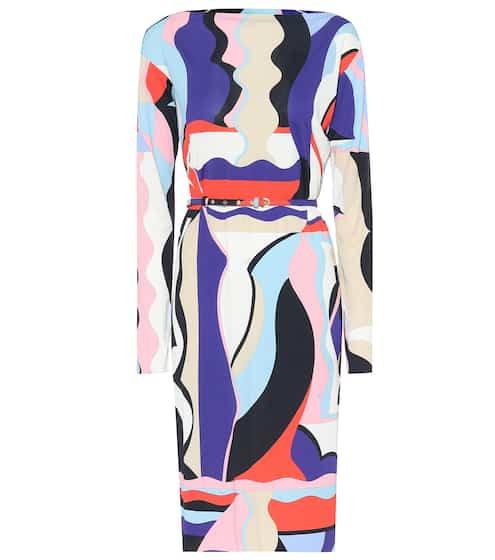 6e565c7fdf461b Printed silk-blend jersey dress | Emilio Pucci. Emilio Pucci