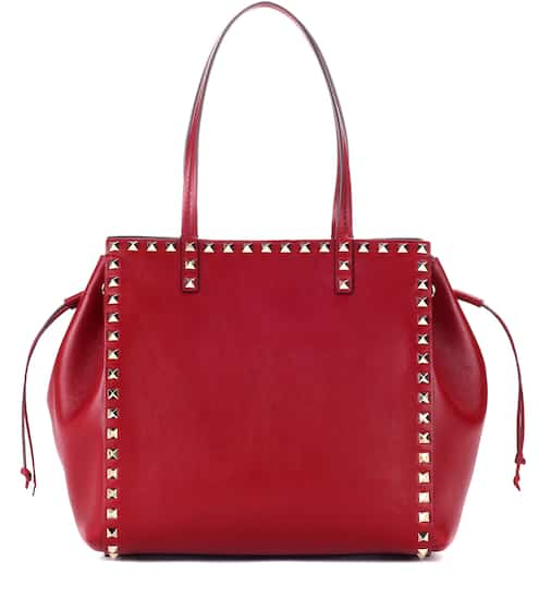 Valentino Valentino Garavani Rockstud leather shopper