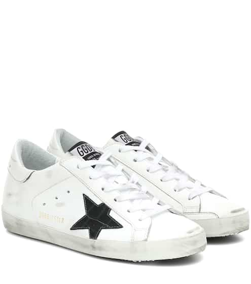 골든구스 Golden Goose Superstar leather sneakers