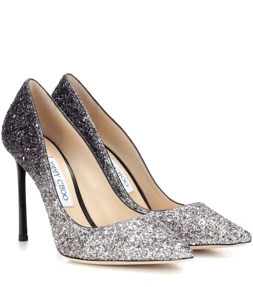Jimmy Choo Pumps Romy 100 mit Glitter