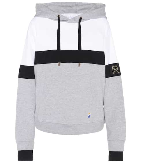 P.E Nation Hoodie Fly Ball aus Baumwolle