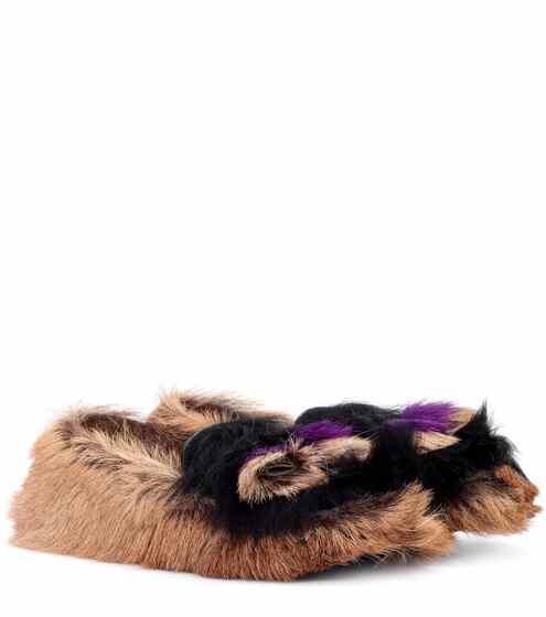 Prada Loafers aus Kalbsfell