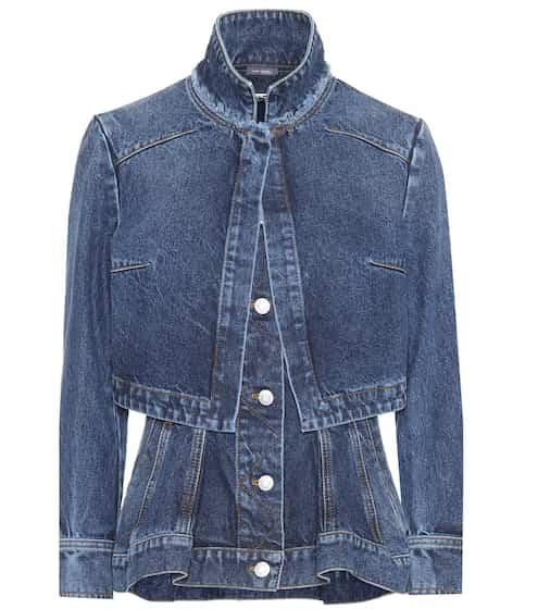 Alexander McQueen Jeansjacke aus Baumwolle