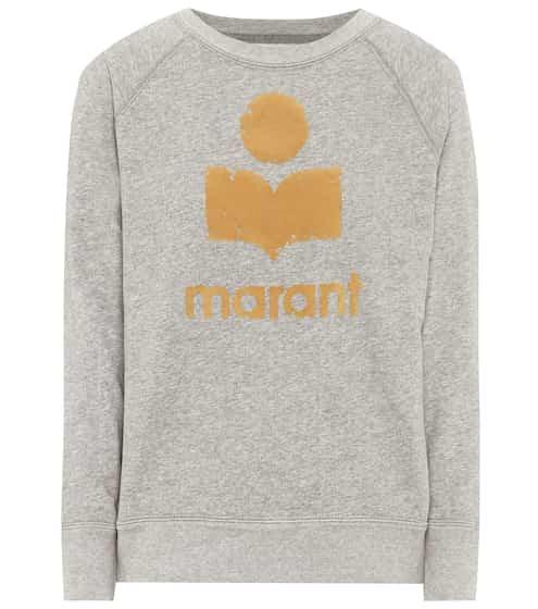 이자벨 마랑 Isabel Marant Etoile Milly cotton-blend sweatshirt
