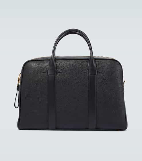 톰 포드 서류 가방 Tom Ford Buckley leather briefcase