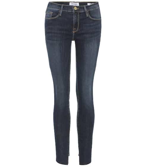 Frame Cropped Jeans Le Skinny de Jeanne