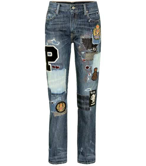 Polo Ralph Lauren Jeans im Patchwork-Stil