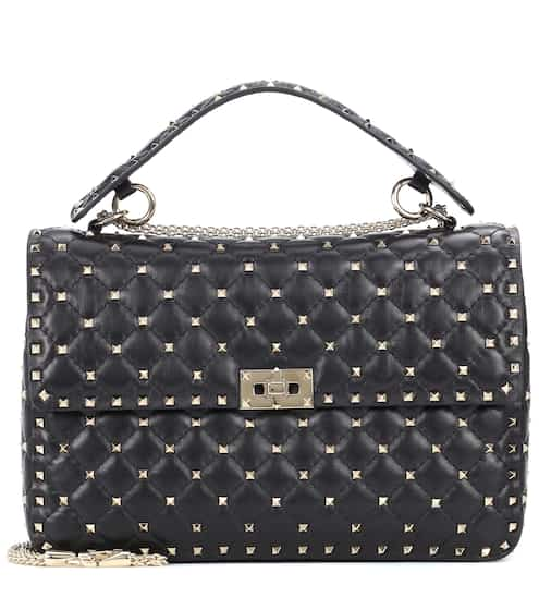 0ab1c9e60f0ff Valentino Garavani Rockstud Spike Large leather shoulder bag