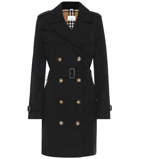 버버리 트렌치 코트 Burberry Cotton-gabardine coat
