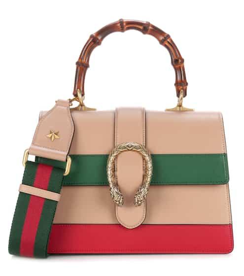 gucci bags dionysus. dionysus bamboo medium leather shoulder bag | gucci bags u