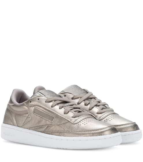 Reebok Sneakers Club C 85 aus Metallic-Leder