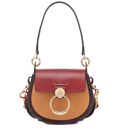 끌로에 테스백 스몰 - 투톤 컬러블록 Chloe Tess Small leather shoulder bag