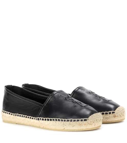 Leather slip-on loafers | Saint Laurent