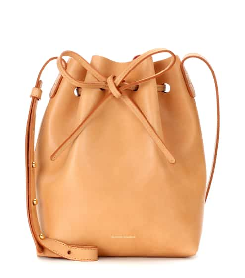 Mansur Gavriel Bucket-Bag Mini aus Leder