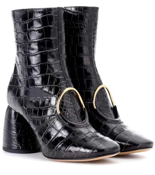 Ellery Ankle Boots El aus geprägtem Leder