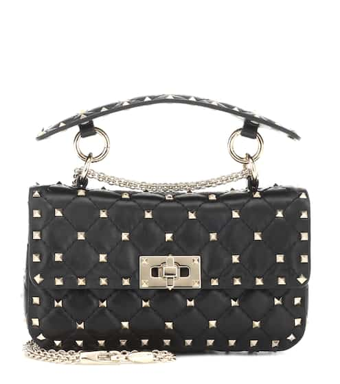 00b586c3d51 Valentino Garavani Rockstud Spike leather shoulder bag | Valentino