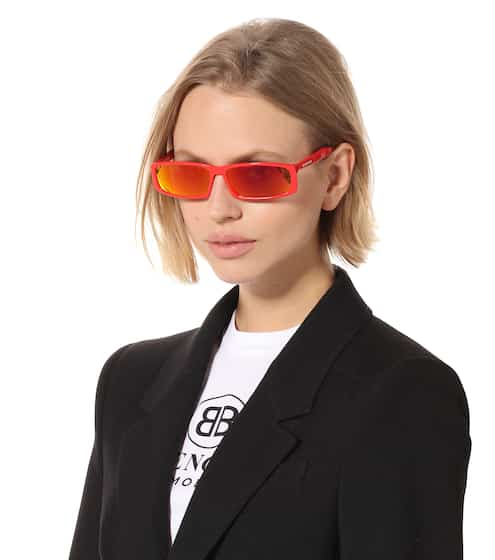 Rectangle sunglasses | Balenciaga