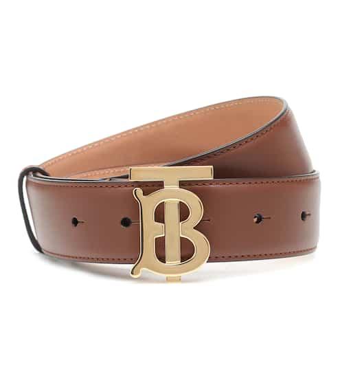 버버리 TB 벨트 (선물 추천) Burberry TB leather belt