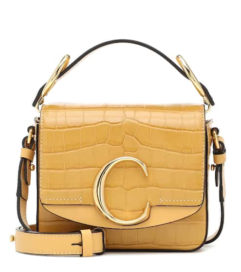 끌로에 Chloe C Mini leather shoulder bag