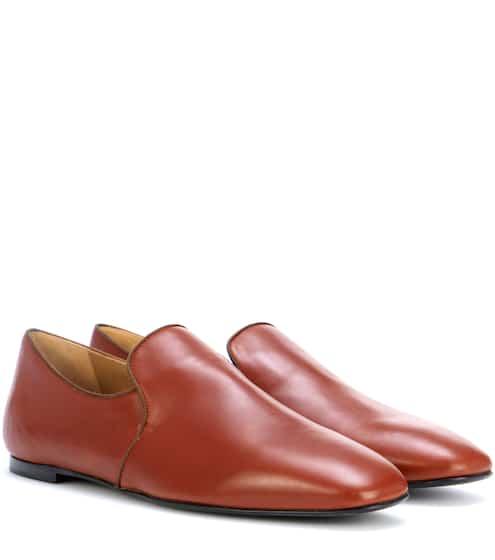 The Row Slippers Alys aus Leder