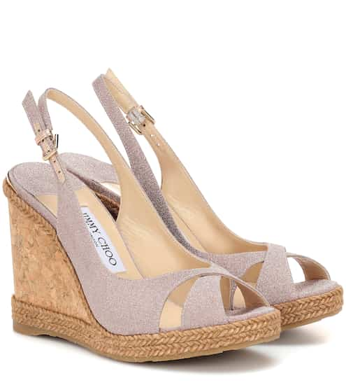 42e5ee7161 Jimmy Choo Amely 105 Platform Wedge Sandals