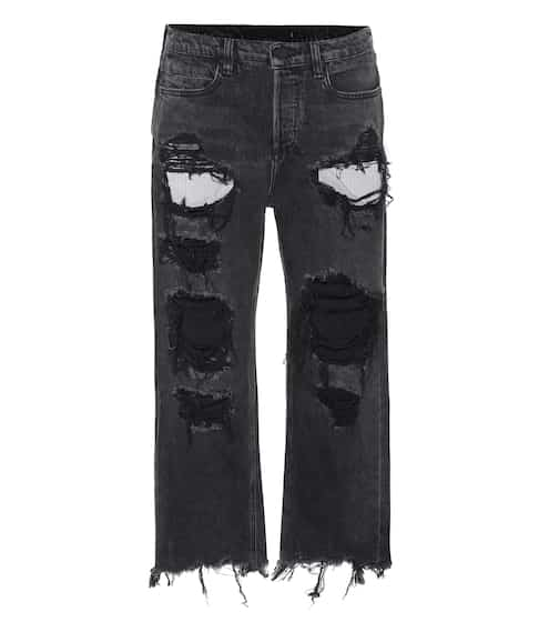 Alexander Wang Ripped Jeans