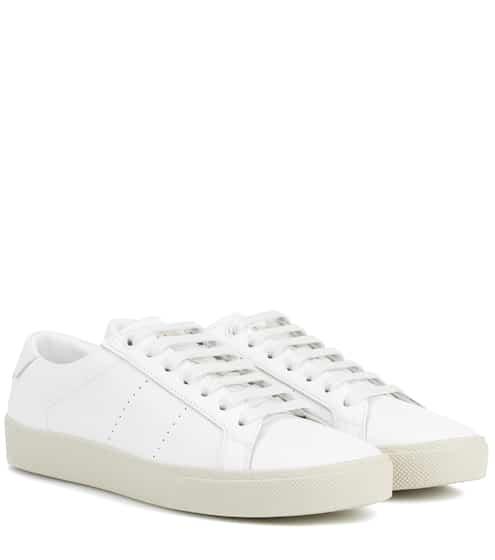 Saint Laurent Sneakers aus Leder