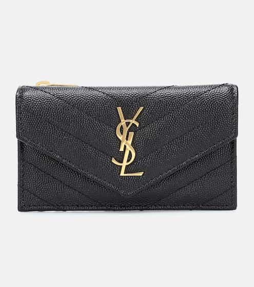 생 로랑 가죽 지갑 스몰 Saint Laurent Envelope Small leather wallet