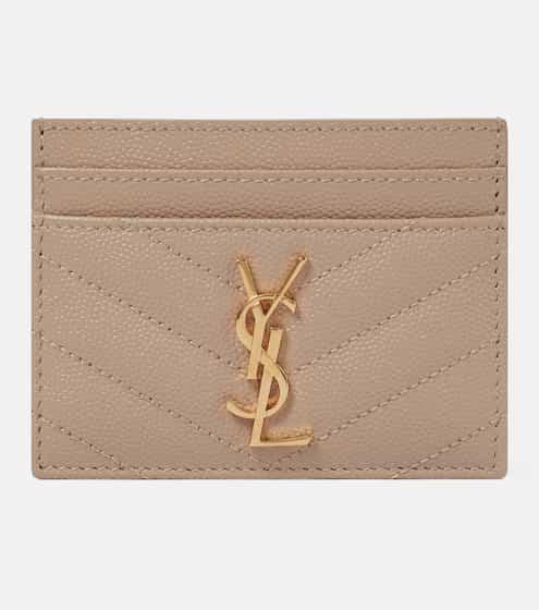 21FW 생 로랑 모노그램 카드 지갑 Saint Laurent Monogram leather card holder