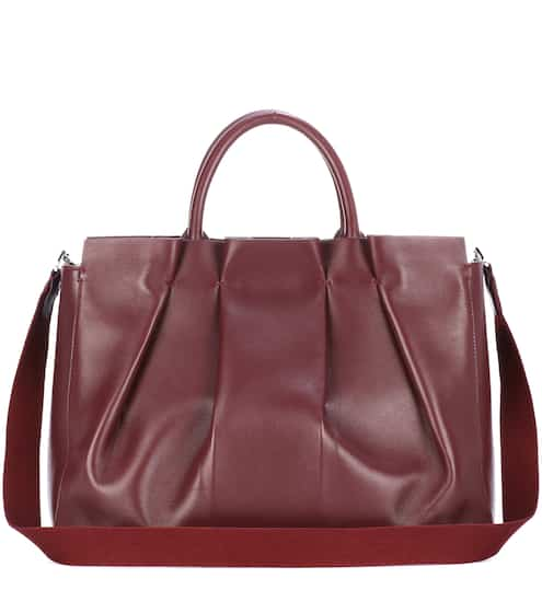 The Row Tote Peggy aus Leder