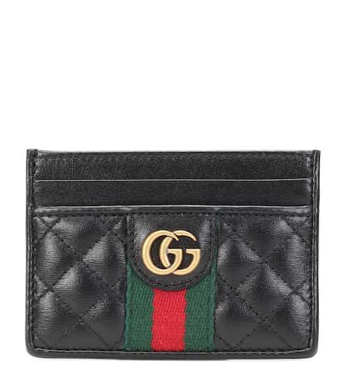구찌 Gucci Double G leather card holder